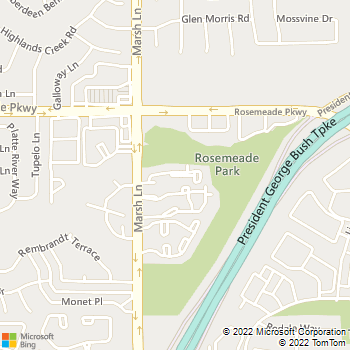 Map - Heatherstone - 18950 Marsh Ln - Dallas, TX, 75287