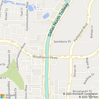 Map - The Lasik Vision Institute, LLC - 14160 N. Dallas Pkwy - Dallas, TX, 75254
