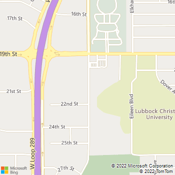 Map - Reese Plumbing Heating - PO Box 16159 - Lubbock, TX, 79490