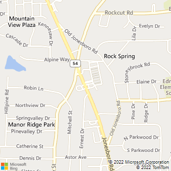 Map - Kool Smiles - 4458 Jonesboro Rd. - Forest Park, GA, 30297