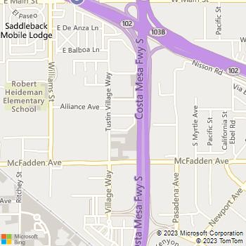 Map - Simcha Desta - 15660 Tustin Village Way, #42 - Tustin, CA, 92780
