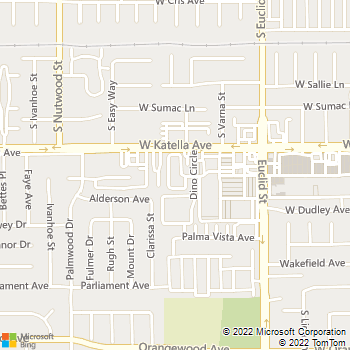 Map - The Plumbing Connection - 10770 Katella Avenue, Unit 6 - Anaheim, CA, 92804