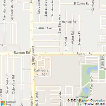 Map - Mirage Desert Electric - PO Box 215 - Cathedral City, CA, 92235