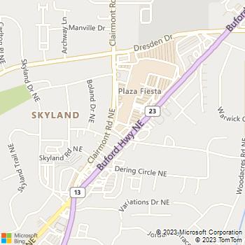 Map - Kool Smiles - 4054 Buford Hwy. NE - Atlanta, GA, 30345