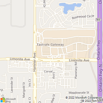 Map - All American Plumbing - 12523 Limonite Avenue, Suite 4 - Mira Loma, CA, 91752