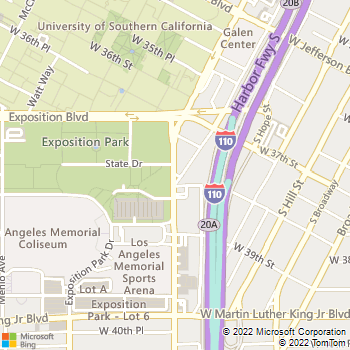 Map - Tuscany - 3770 S Figueroa St - Los Angeles, CA, 90007