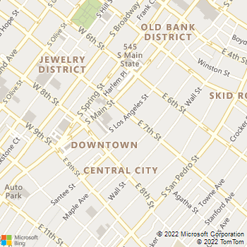 Map - Santee Court - 716 S Los Angeles St Ste B - Los Angeles, CA, 90014