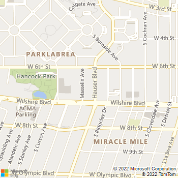 Map - Renaissance Apartments - 630 Masselin Ave - Los Angeles, CA, 90036