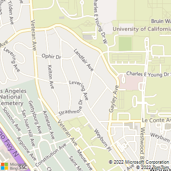 Map - Atrium Court - 10965 Strathmore Drive - Los Angeles, CA, 90024