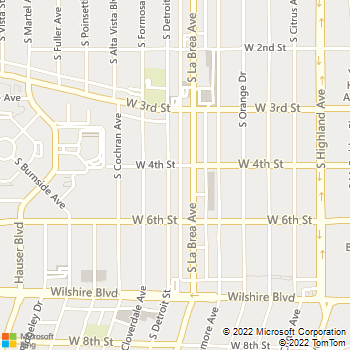 Map - Essex Properties at Miracle Mile - 400 S Detroit St - Los Angeles, CA, 90036