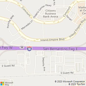 Map - The Lasik Vision Institute, LLC - 3998 Inland Empire Blvd - Ontario, CA, 91764
