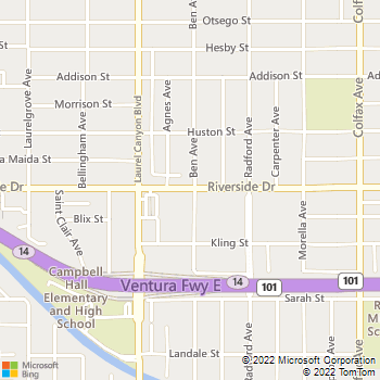 Map - IMT Valley Village - 12000 Riverside Drive - Valley Village, CA, 91607