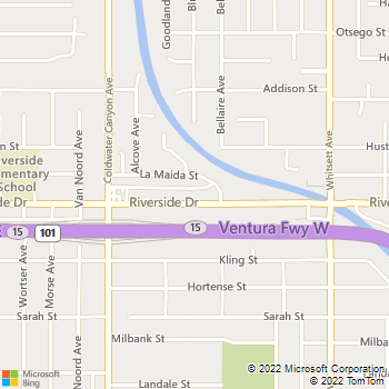 Map - Imt Sherman Village - 12729 Riverside DrSherman Vill - Valley Village, CA, 91607