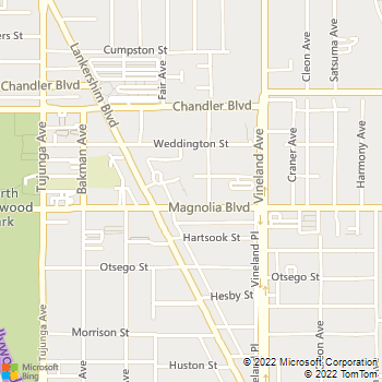 Map - Academy Village - 5225 Blakeslee Ave - North Hollywood, CA, 91601