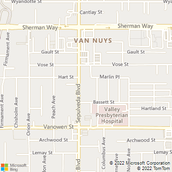 Map - IMT on the Boulevard - 6940 Sepulveda - Van Nuys, CA, 91405