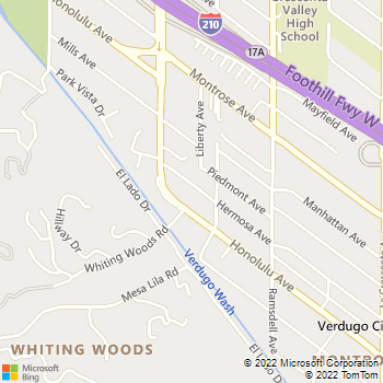 Map - A&P Electric - 3124 Hermosa Avenue - La Crescenta, CA, 91214