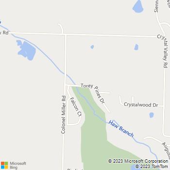 Map - Eagle Nest - 33 Falcon Ct - Little Rock, AR, 72210