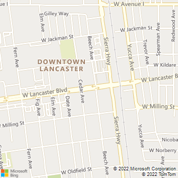Map - Tile Revival - P.O. Box 1377 - Lancaster, CA, 93584
