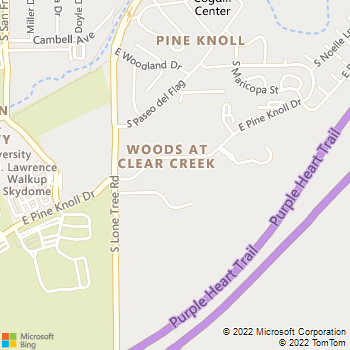 Map - Clear Creek Village - 875 E. Pine Knoll Dr. - Flagstaff, AZ, 86001