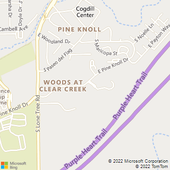 Map - The Ridge at Clear Creek - 997 E. Pine Knoll Drive - Flagstaff, AZ, 86001