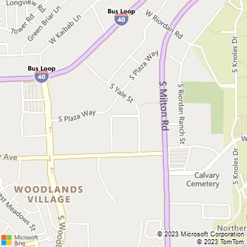 Map - Aspen Leaf - 1515 S. Yale - Flagstaff, AZ, 86001