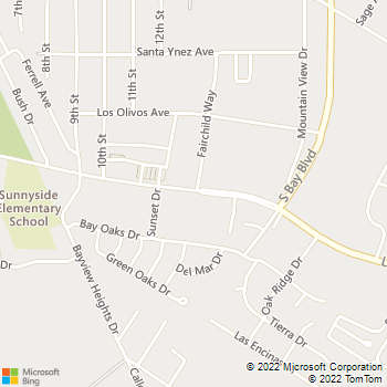Map - Ed Weaver Construction - P.O. Box 6132 - Los Osos, CA, 93412
