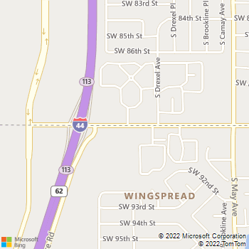 Map - Legacy Crossing Apartments - 3131 SW 89th Street - Oklahoma City, OK, 73159