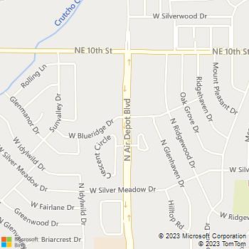 Map - Legacy Corner Apartments - 777 N. Air Depot - Oklahoma City, OK, 73110