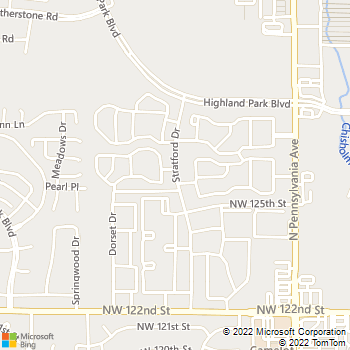 Map - The Place At Village at Stratford - 12831 Stratford Dr - Oklahoma City, OK, 73120