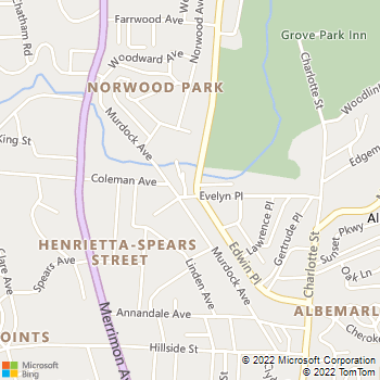 Map - The Abstract Painting - 2 Kimberly Avenue - Asheville, NC, 28804
