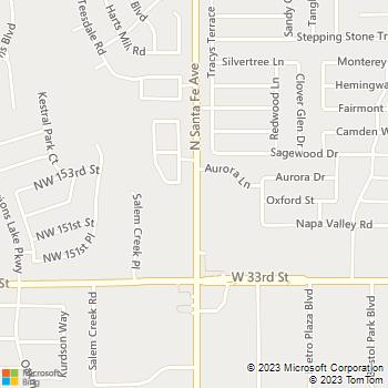 Map - Family Pet Hospital - 2228 NW 164th St, - Edmond, OK, 73013