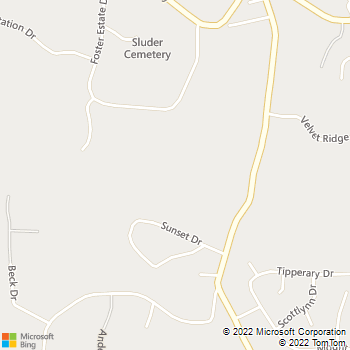 Map - Certa Pro of WNC - 220 Mount Carmel Road - Asheville, NC, 28806