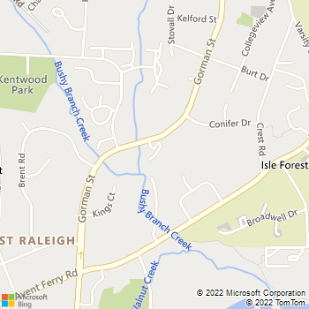 Map - Xtra Handyman Services - 1521 Graduate Lane, Suite 104 - Raleigh, NC, 27606