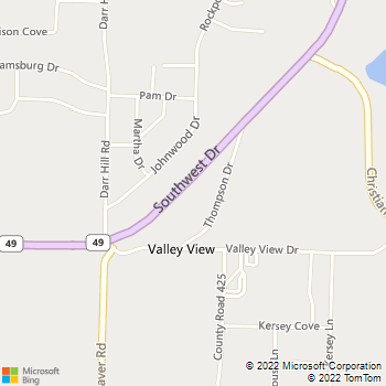 Map - All Clear Drain - PO Box 1547 - Jonesboro, AR, 72404