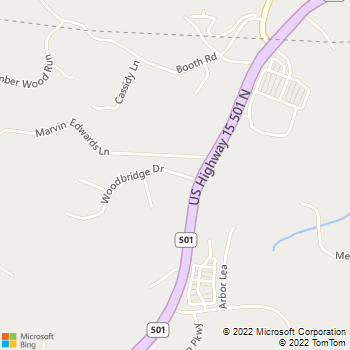 Map - Cole Park Veterinary Hospital - 55 Woodbridge Dr. - Chapel Hill, NC, 27516