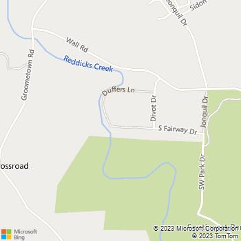 Map - B.E.A.R.S. Lawncare - 4018 South Fairway Drive - Greensboro, NC, 27407