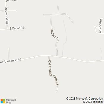 Map - Wallscapes by Renee - 2509 Bellemont Alamance Road - Burlington, NC, 27215