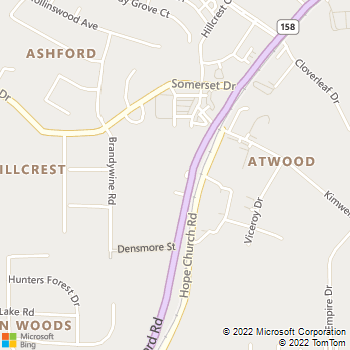Map - Forsyth Veterinary Hospital - 2556 S Stratford Rd - Winston Salem, NC, 27103