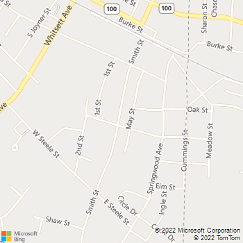 Map - Commercial One Plumbing - 511 Smith Street - Gibsonville, NC, 27249