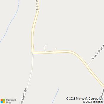 Map - The Handy Man - 856 Alert Road - Louisburg, NC, 27549