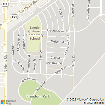 Map - VCA Spring Mountain Animal Hospital - 5590 W. Spring Mountain Road - Las Vegas, NV, 89146