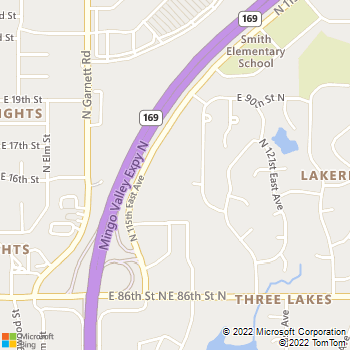 Map - VCA Owasso Animal Hospital - 8811 North Owasso Expressway - Owasso, OK, 74055