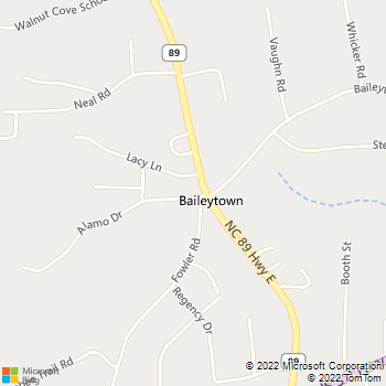Map - Animal Hospital Of Walnut Cove - 1020 Alamo Dr - Walnut Cove, NC, 27052