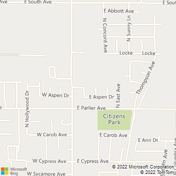 Map - Emanuel Guerrero - 1862 North Jasmine Avenue - Reedley, CA, 93654