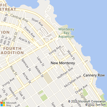 Map - Mike Counsil Electric - 798 Lighthouse Ave - Monterey, CA, 93940