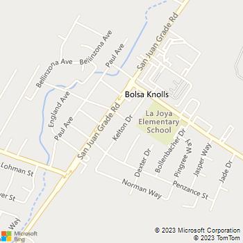Map - ESV Construction - 313 Kelton Drive - Salinas, CA, 93906