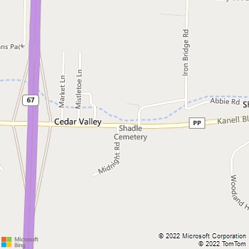 Map - Focus On Physical Therapy - 3381 Kanell Blvd - Poplar Bluff, MO, 63901