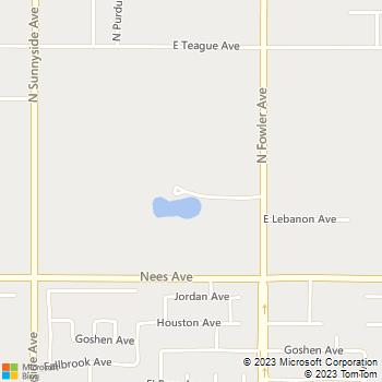 Map - Hamel Development, Inc. - 8161 North Fowler - Clovis, CA, 93619