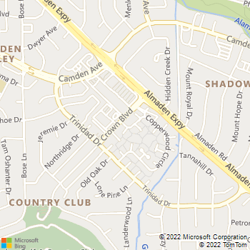 Map - Altap Electrical - PO Box 41009 - San Jose, CA, 95160