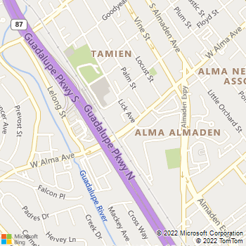 Map - Skyline At Tamien Station - 1375 Lick Avenue - San Jose, CA, 95110